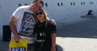 שלומי אוסיאס ובת הזוג דניאל
