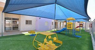 הצללה בגן ילדים (צילום: רן אליהו) הצללה בגן ילדים (צילום: רן אליהו)