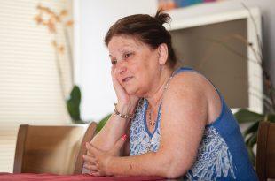 שרה שמעון, אימו משל אמיר פיי גוטמן. צילום: דורון גולן