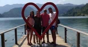 משפחת אטיאס באגם בלד