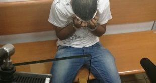 החשוד בבית משפט השבוע (צילום: שלומי גבאי)