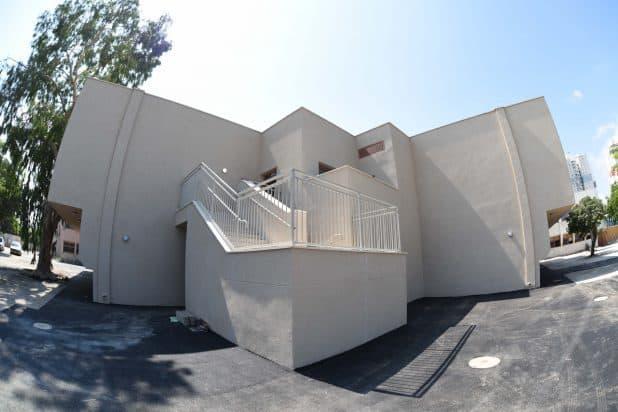 המבנה החדש לחטיבות הביניים. צילום: ניר שטיינברג