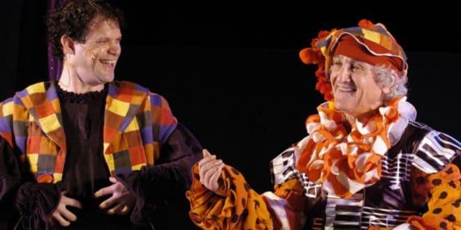 צילום ההצגה ליצן החצר: תאטרון אורנה פורת
