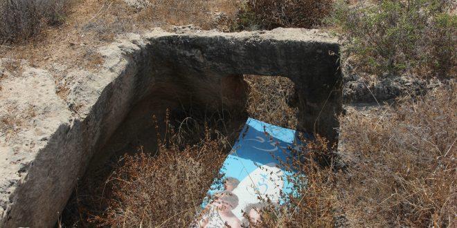 אתר עתיקות הפניקי מוזנח (צילום אדריאן הרבשטיין)