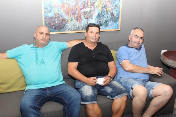 אבי אדרי, משה רוסמו ואבי איצחק
