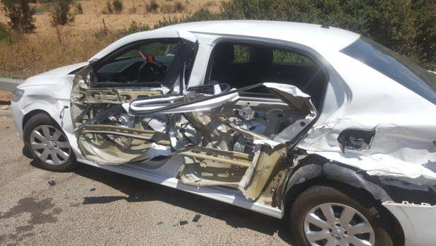 תאונה בצומת חלפתא