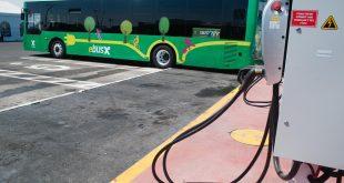 אוטובוסים חשמליים של אגד. צילום: דורון גולן