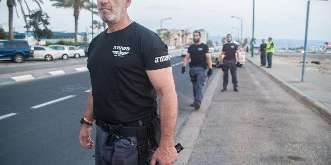 אוהד פלד, מפקד יחידת מתנדבי הג'יפים במשטרת זבולון. צילום: דורון גולן