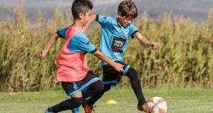כדורגל וערכים. ילדי האקדמיה באחד האימונים