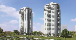 הפנטהאוז בקומה ה-24 דירות במגוון גדלים. חלומות וסביונים (הדמיות: viewpoint)