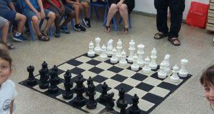 לימודי שחמט בקרית ים. צילום: דוברות העירייה