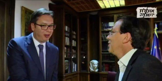 מחיר כבד. נדב אייל ואלכסנדר ווצ'יץ' (צילום מסך: מתוך ערוץ 10)