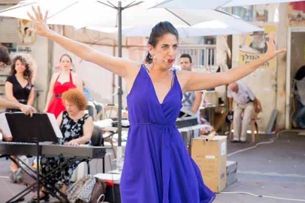 סולנית האופרה הישראלית (צילום: נורית מוזס)