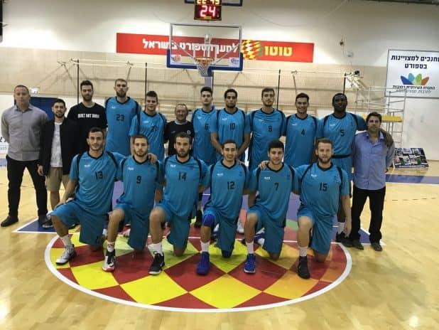 קבוצת הכדורסל המאוחדת (צילום עצמי)