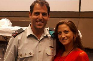 דניאל בן ואישתו