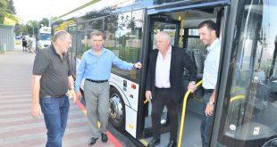 חונכים את האוטובוס החדש