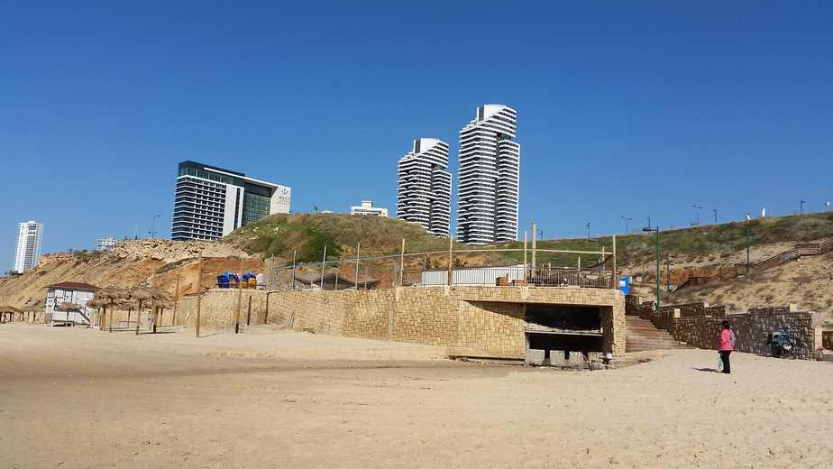 חוף לגון ארגמן (צילום: רותי ברמן)