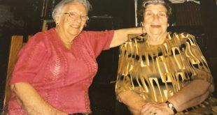 מימין חיה ברנר ואגי יאסי (צילום: אלבום משפחתי)