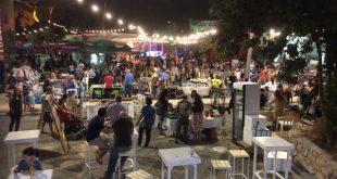 מתחם השוק הישן בפסטיבל. צילום: נירית שפאץ