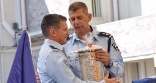 """מונה לראש הימ""""ר נצ""""מ מגן משמאל. צילום משטרת ישראל"""