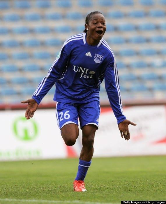 קפטנית נבחרת גינאה. אנונמה ג'נובבה (צילום: יעקב גלאם)