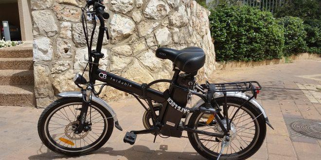 אופניים חשמליים (צילום:רותי ברמן)