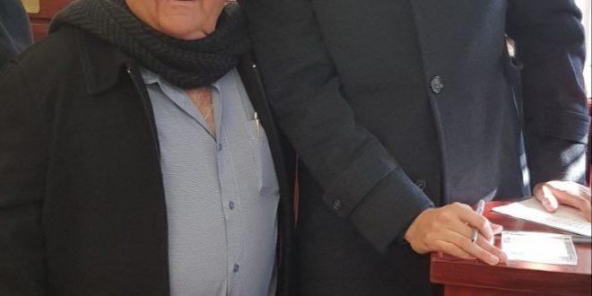 ראובן יוקלר ועומרי כספי (צילום עצמי)