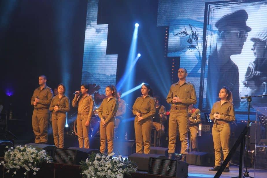 מהאירוע בגן שמואל (צילום: מועצה אזורית מנשה)