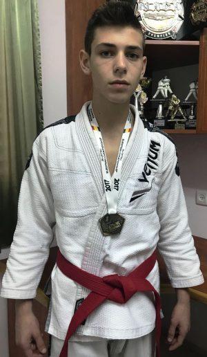 אלוף אירופה לנוער בג'יוג'טסו ברזילאי. שי הון (צילום: עצמי)