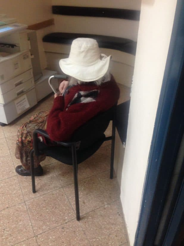 הקשישה שנמצאה