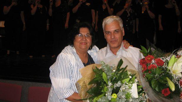 שולה כהן ויואב קליין בהכתרה, ידעו ימים יפים מאלה