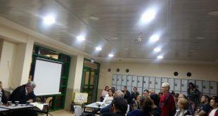 מפגש תושבים בחדרה צילום: עיריית חדרה