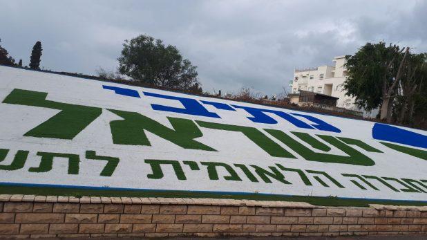 """שטיח ע""""ש נתיבי ישראל (צילום: רותם כבסה)"""