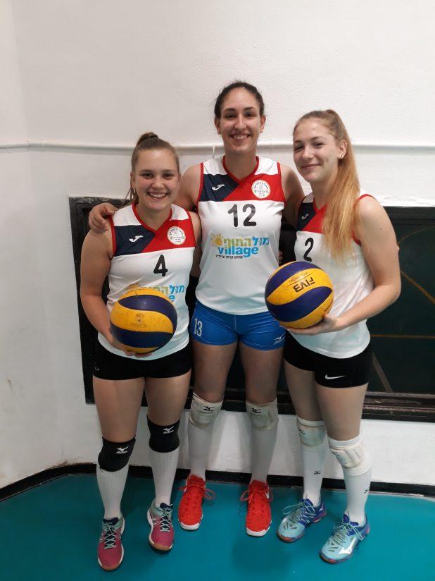 שלושת הבנות, צילום: גדעון רוזנשטיין