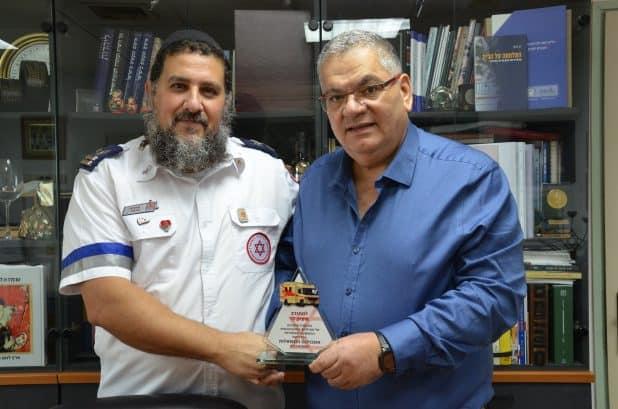 איציק לוי וראש העיר ברדה