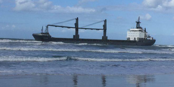 דיאנה, מול חוף קרית ים. צילום: דוברות סגן השר להגנת הסביבה