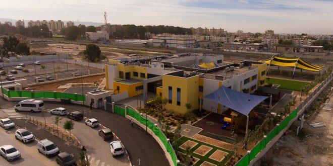 השטח שעליו תקום קריית החינוך החדשה. צילום: עמית עזריאל