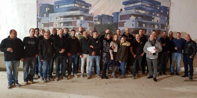סגל חברת לאטי יזמות באירוע סוף שנה שהתקיים באתר פארק הרקפות צילום- משה אטיאס
