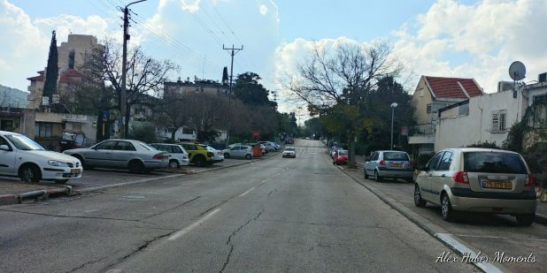 רחוב צהל בקטע שישונה