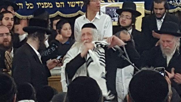 הרב ברלנד נהריה (צילום אדריאן הרבשטיין)