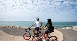 אופניים שיתופיים. צילום: יעל אמיר