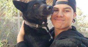 החניך אלירן דניס והכלבה רקפת (1) (1