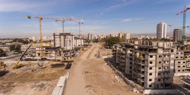 הבנייה בשיאה. דוברות עיריית קריית מוצקין