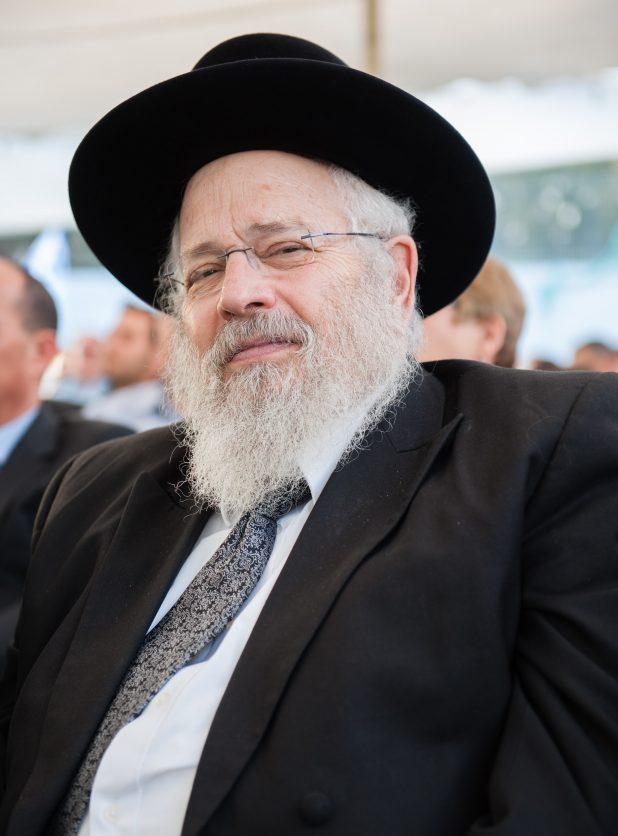 הרב דוד דרוקמן. צילום: דורון גולן