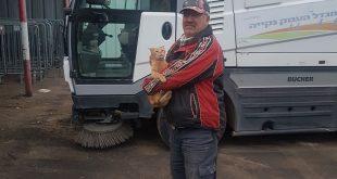 ליאוניד והחתולה שהציל