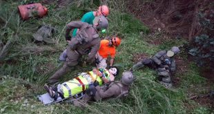 צוות החילוץ במהלך פעולת הצלה