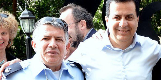מימין: שמעון סבג וישראל כהן (צילום: פרטי)