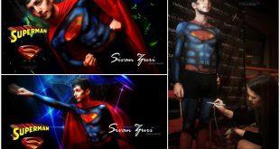 סופרמן מבית איציק צורי (צילום איציק צורי)