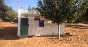המקלט ברחוב עציון המיועד לתחנת ההזנקה (צילום: נירית שפאץ)
