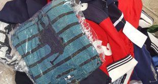 חלק מהסחורה שהוחרמה (צילום דוברות המשטר)